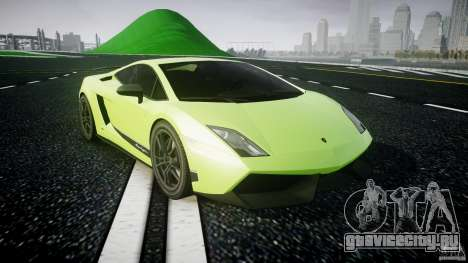 Lamborghini Gallardo LP570-4 Superleggera 2010 для GTA 4 вид сзади
