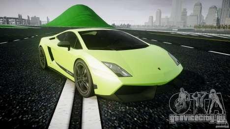 Lamborghini Gallardo LP570-4 Superleggera 2010 для GTA 4 вид сзади