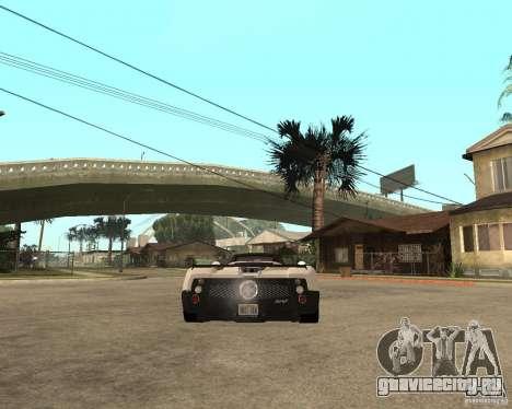 Pagani Zonda F для GTA San Andreas вид слева