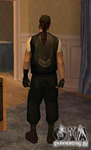 Новые скины Байкеров для GTA San Andreas седьмой скриншот