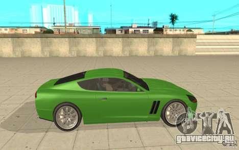 Super GT из GTA 4 для GTA San Andreas вид слева