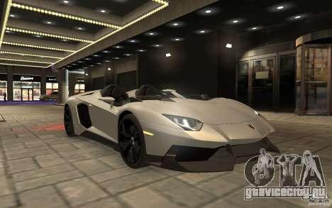 Lamborghini Aventador J для GTA 4 вид справа