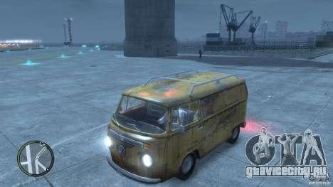 VW Transporter T2 для GTA 4