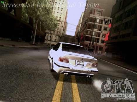 BMW E39 M5 2004 для GTA San Andreas колёса