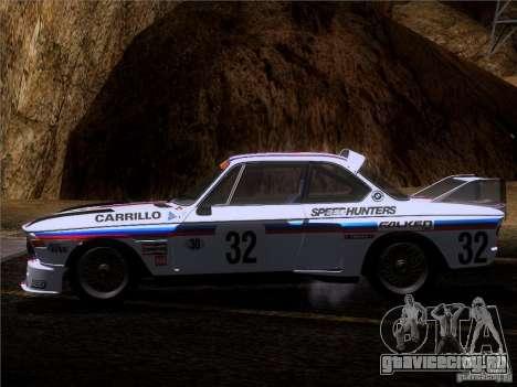 BMW CSL GR4 для GTA San Andreas вид сверху