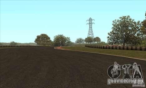 Трасса GOKART Route 2 для GTA San Andreas шестой скриншот