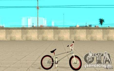 REAL Street BMX mod Chrome Edition для GTA San Andreas вид слева