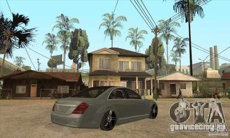Mercedes Benz Panorama 2011 для GTA San Andreas вид справа