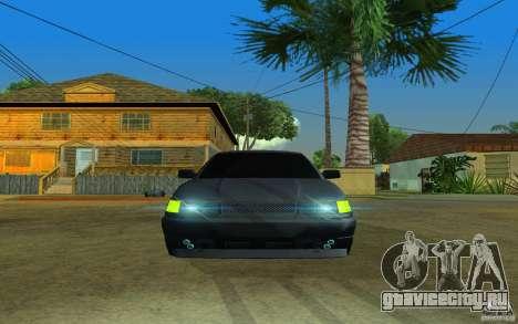 ВАЗ 2112 для GTA San Andreas вид сбоку