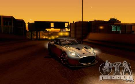 Aston Martin Zagato V12 V1.0 для GTA San Andreas