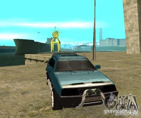 ВАЗ 21099 sparco tune для GTA San Andreas вид сзади слева