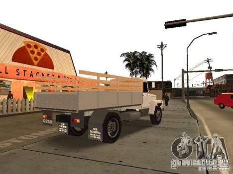 ГАЗ 3309 для GTA San Andreas вид сзади слева