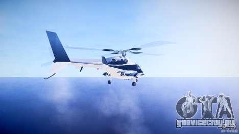 Airwolf v1.0 для GTA 4 вид сзади слева