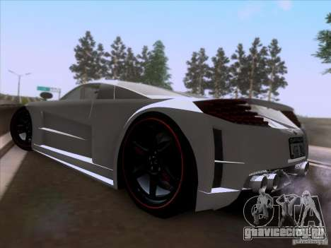 Chrysler ME Four-Twelve для GTA San Andreas вид сзади слева