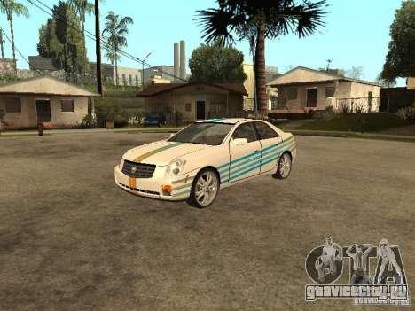 Cadillac CTS для GTA San Andreas вид сбоку