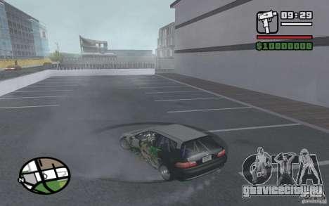 Honda Сivic drift для GTA San Andreas вид справа
