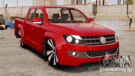 Volkswagen Amarok 2.0 TDi AWD Trendline 2012 для GTA 4
