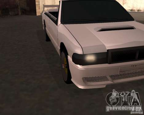 Такси Кабриолет для GTA San Andreas вид слева