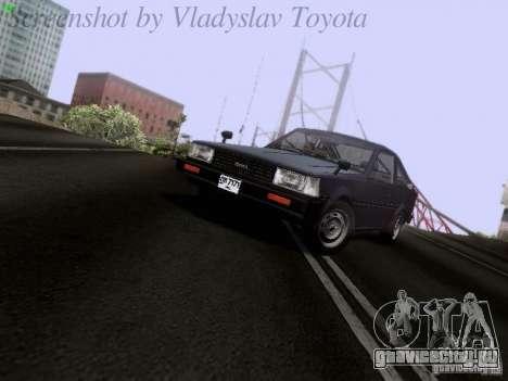 Toyota Corolla TE71 Coupe для GTA San Andreas вид слева