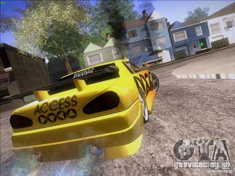 Elegy Cabrio Edition для GTA San Andreas вид сбоку