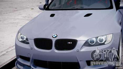 BMW M3 Hamann E92 для GTA 4 колёса