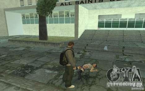 Анимации из GTA IV для GTA San Andreas седьмой скриншот