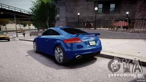 Audi TT RS Coupe v1 для GTA 4 вид сбоку