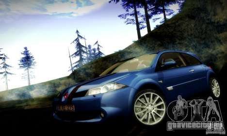 Renault Megane Coupe 2008 TR для GTA San Andreas вид сбоку