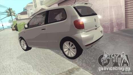 Volkswagen Fox 2013 для GTA San Andreas вид справа