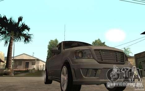 Saleen S331 Super Cab для GTA San Andreas вид сзади