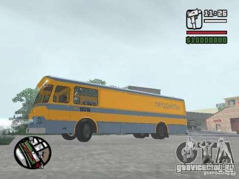 ЛиАЗ 677м грузовой для GTA San Andreas вид сзади