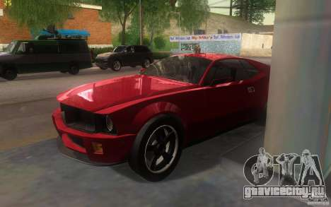 AMC Javelin 2010 для GTA San Andreas вид справа