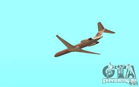 McDonnell Doeuglas MD-80 для GTA San Andreas