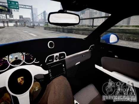 Porsche 911 Carrera S 2012 для GTA 4 вид сзади