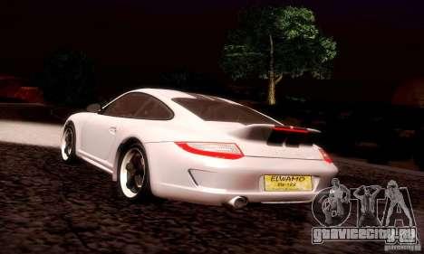 Porsche 911 Sport Classic для GTA San Andreas салон
