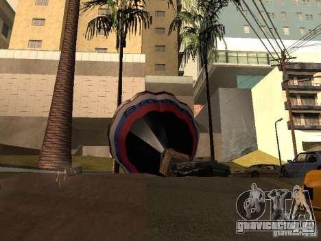 Воздушный шар Витязь для GTA San Andreas вид сзади слева