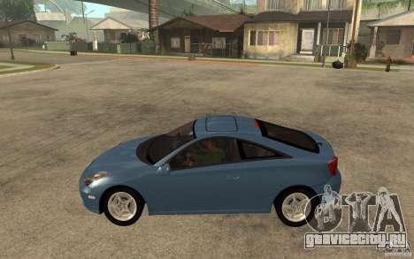 Toyota Celica SS2 для GTA San Andreas вид слева