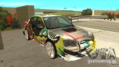 Subaru Impreza 2005 Mission Edition для GTA San Andreas