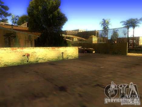 Оружие на Грув Стрит для GTA San Andreas пятый скриншот