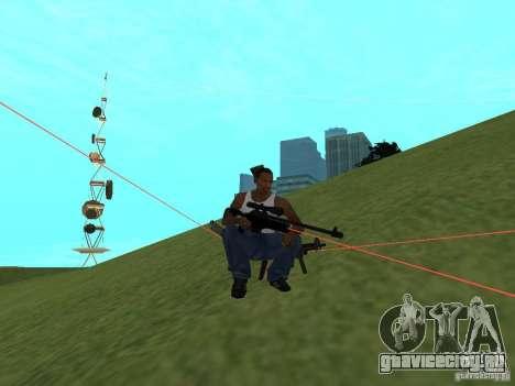 Laser Weapon Pack для GTA San Andreas восьмой скриншот