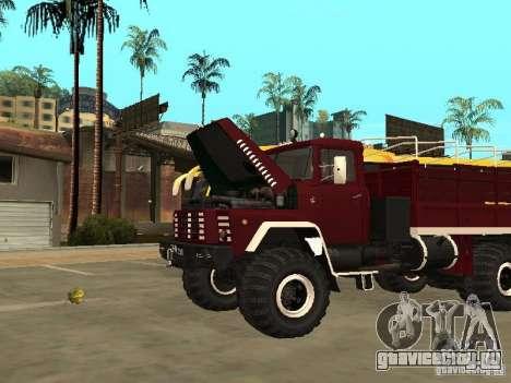 КрАЗ 260 для GTA San Andreas вид справа