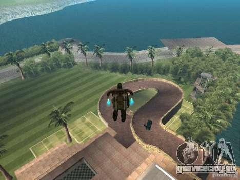 Остров с  особняком для GTA San Andreas второй скриншот
