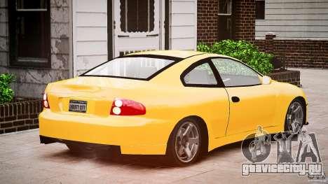 Pontiac GTO 2004 для GTA 4 вид изнутри