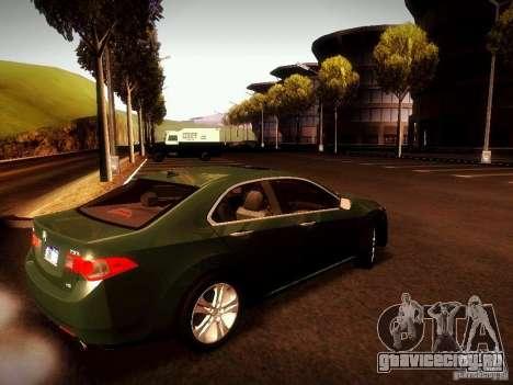 Acura TSX для GTA San Andreas вид слева