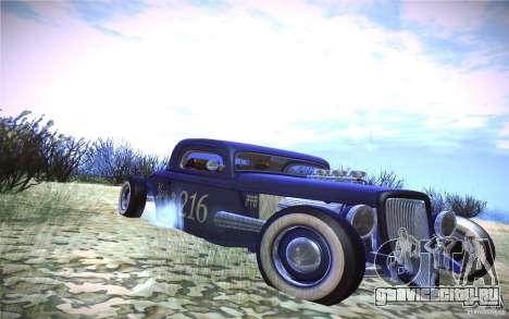 Ford Ratrod 1934 для GTA San Andreas вид слева