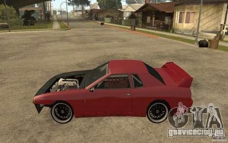 Drift Elegy для GTA San Andreas вид слева