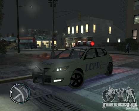 Mazda 3 Police для GTA 4