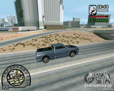 Трамплины на шоссе в Лас Вентурасе для GTA San Andreas пятый скриншот