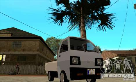 Suzuki Carry Kamyonet для GTA San Andreas вид сзади