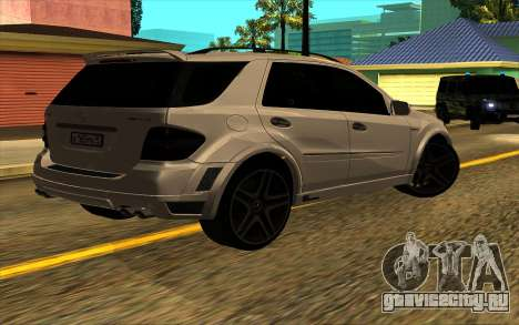 Mercedes-Benz ML63 AMG W165 Brabus для GTA San Andreas